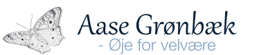 Aase Grønbæk – Øje for velvære Logo